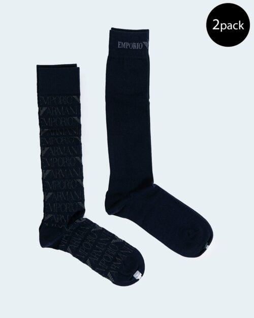 Emporio Armani Underwear Calzini Lunghi 2 PACK CALZA LUNGA 302301 0A284 - 1