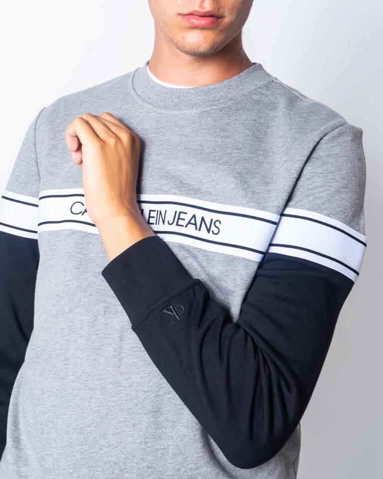 Calvin Klein Jeans Felpa senza cappuccio Logo Tape Crew Neck J30J315710 - 3