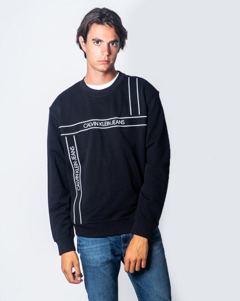 Calvin Klein Jeans Felpa senza cappuccio Logo Tape Fashion Crew Neck J30J315701 - 1