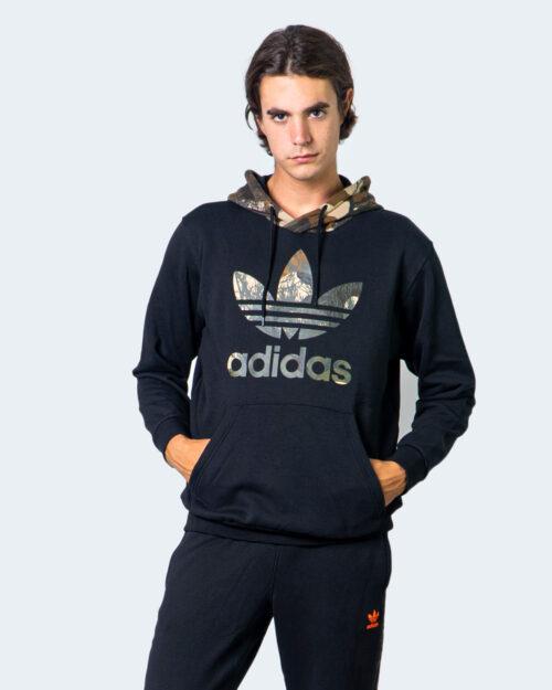 Adidas Felpa con cappuccio LOGO MILITARE FOGLIE MEN GD5956 - 1