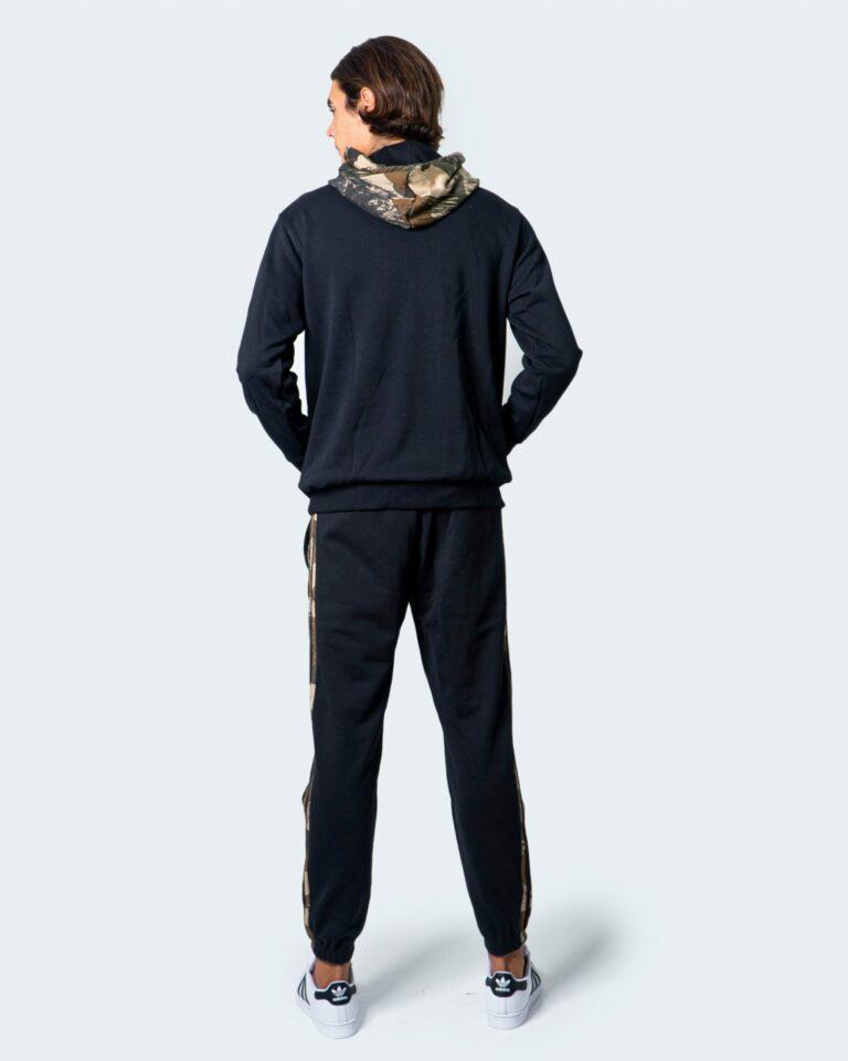 Adidas Felpa con cappuccio LOGO MILITARE FOGLIE MEN GD5956 - 3