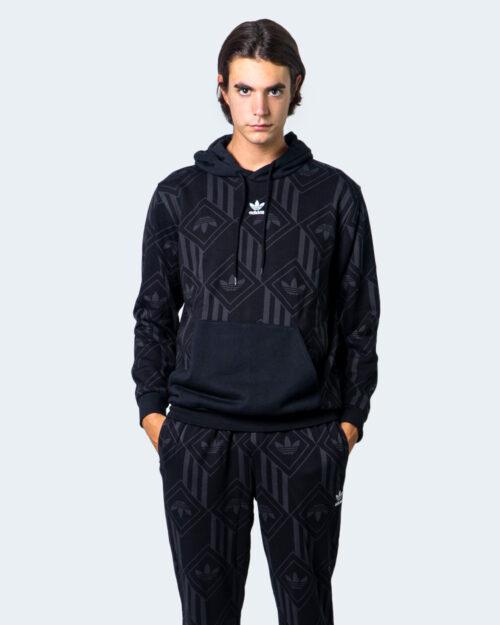 Adidas Felpa con cappuccio MULTILOGO ROMBO CAPPUCCIO  GD5840 - 1