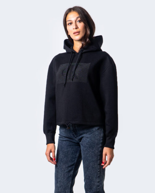 Calvin Klein Jeans Felpa con cappuccio LOGO COTTON BONDED HOODIE J20J214212 - 3