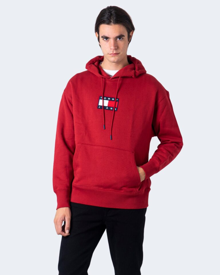 Tommy Hilfiger Felpa con cappuccio TJM Small Flag hoodie DM0DM08726 - 1