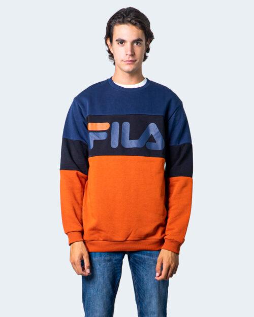 Fila Felpa senza cappuccio STRAIGHT CREW BLOCKED 681255 - 1
