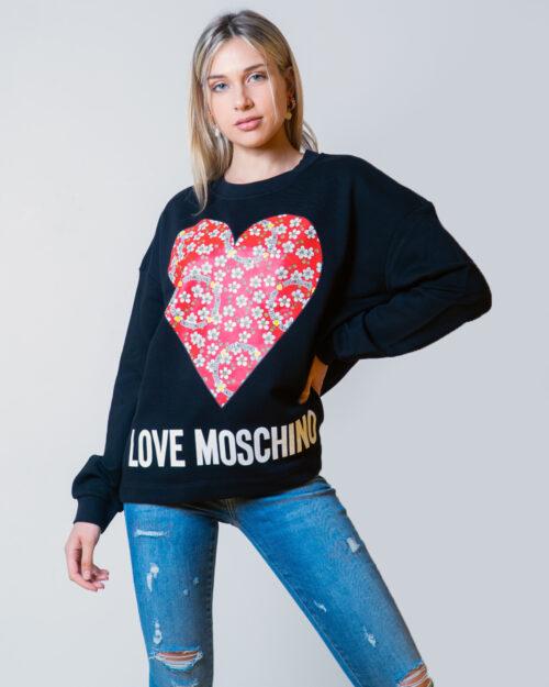 Love Moschino Felpa senza cappuccio CUORE LOGO W640401M4055 - 1