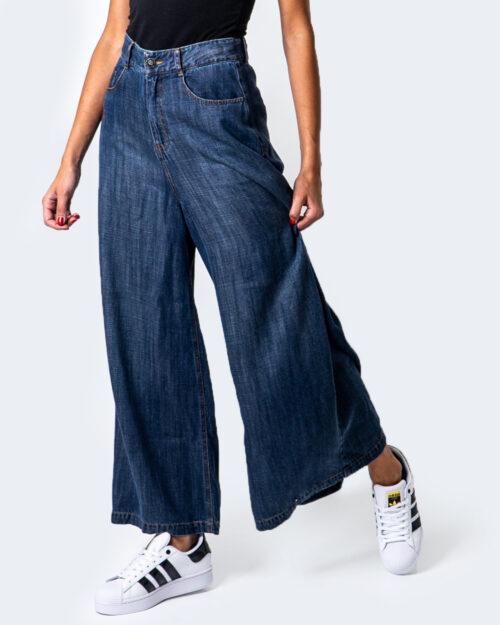 Desigual Jeans larghi DENIM SUPER WIDE LEG 20WWDD54 - 1