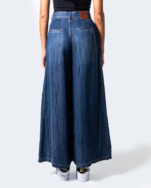Desigual Jeans larghi DENIM SUPER WIDE LEG 20WWDD54 - 3