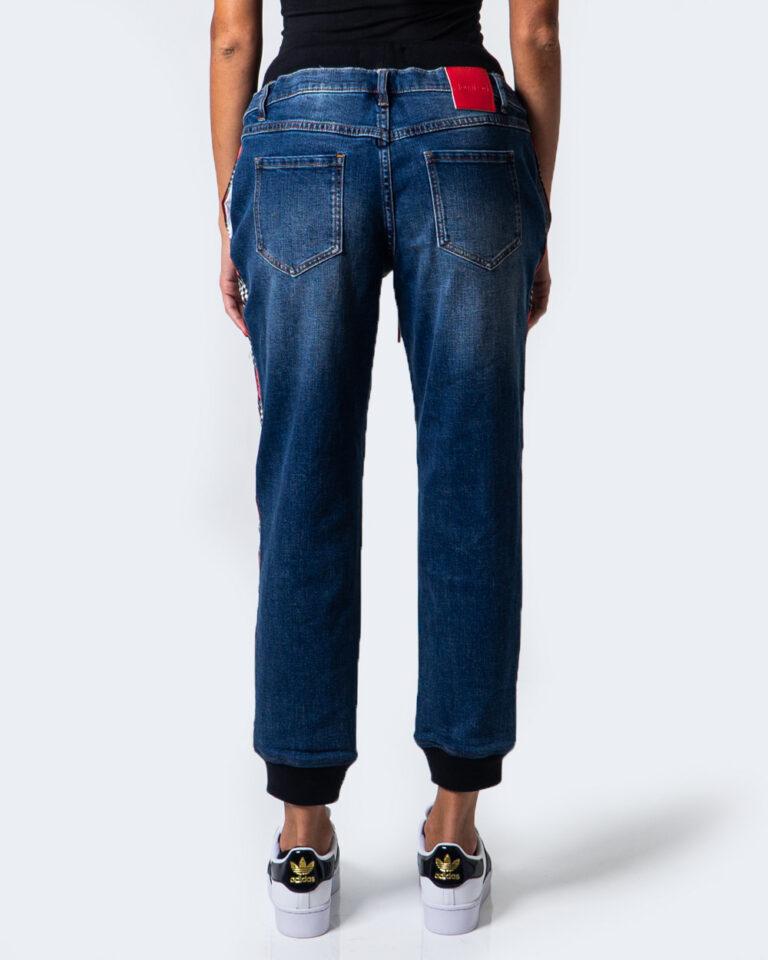 Desigual Jeans baggy DENIM CHECK MESS 20WWDD14 - 3