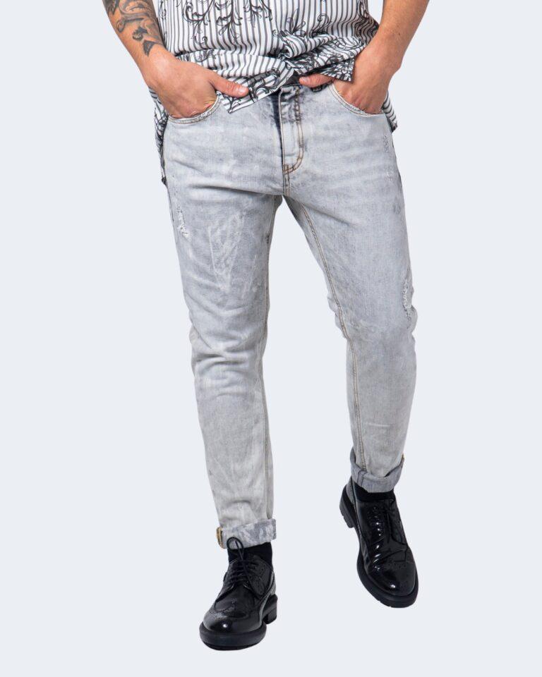 Displaj Jeans skinny KONG MARM KONG BLK MARM - 1