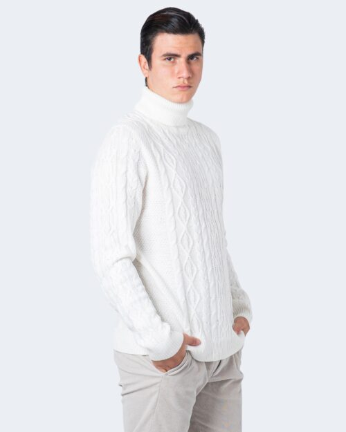 Only & Sons Maglione Rigge 3 Cable Roll neck Knit 22018156 - 1