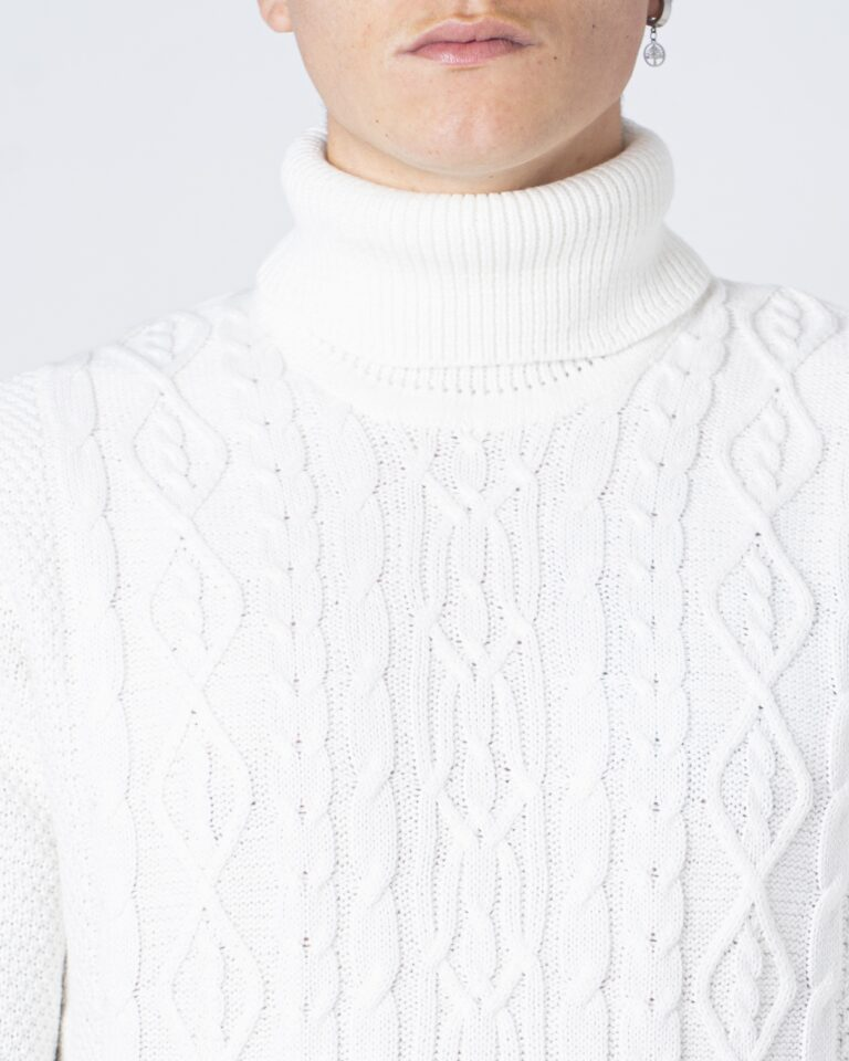 Only & Sons Maglione Rigge 3 Cable Roll neck Knit 22018156 - 3