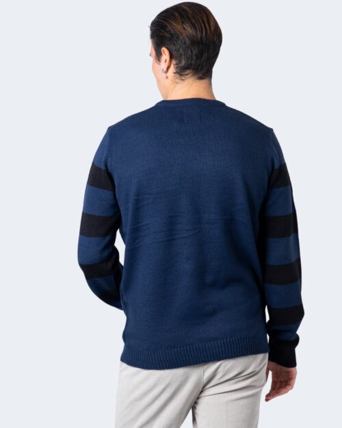 Only & Sons Maglione Xmas 7 Stripe Front Jaq Crew Knit 22017941 - 3