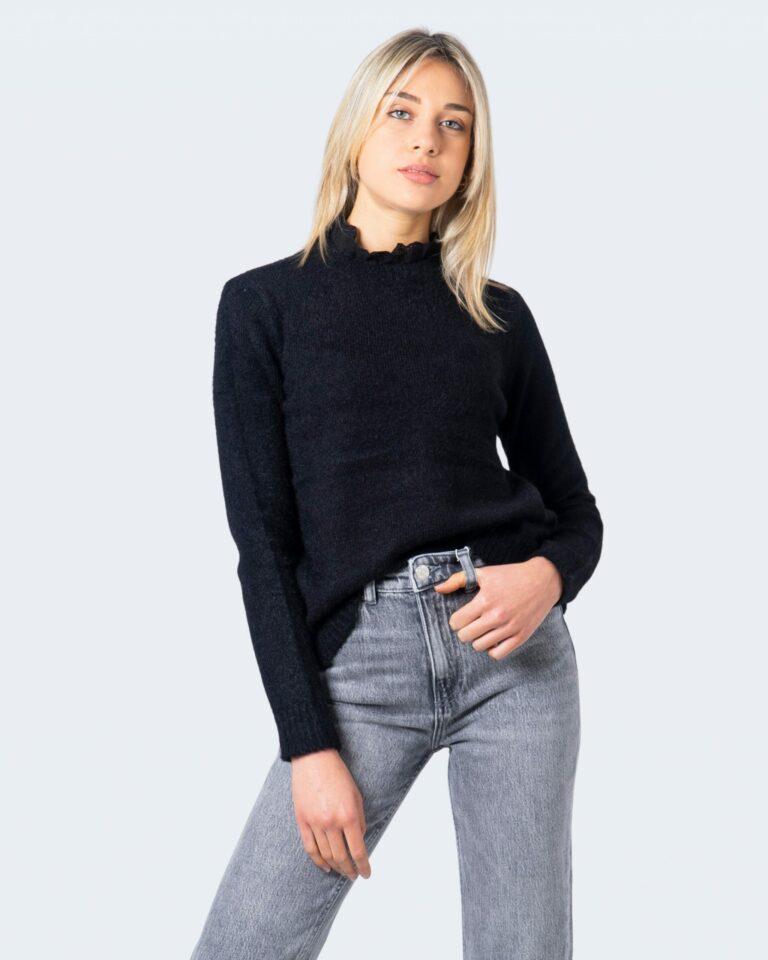Vila Clothes Maglione Feami Knit Lace L/S Top/Su 14060122 - 1