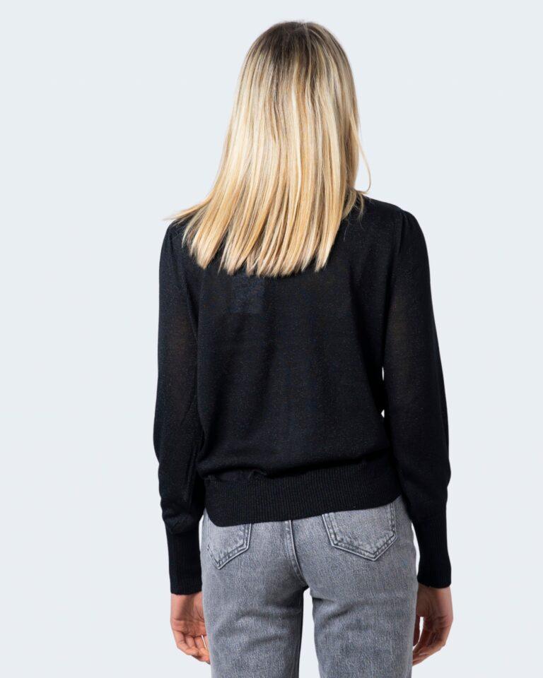 Vila Clothes Maglione Hermine Knit Highneck L/S Top/Su 14059994 - 3