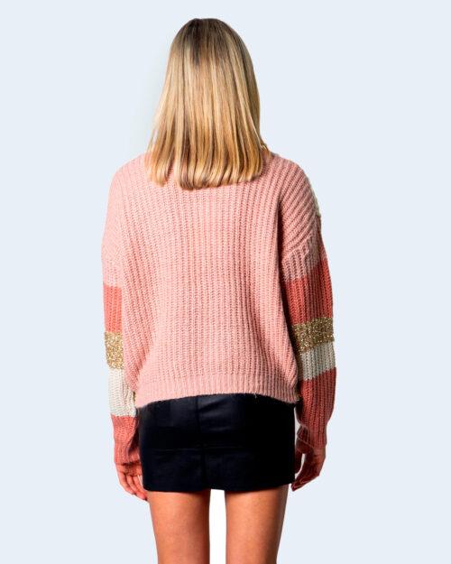 Vila Clothes Maglione Tianli Knit Glitter O-Neck L/S Top 14060308 - 3