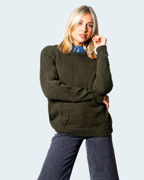 Vila Clothes Maglione Feami O-neck L/S Knit Top/Su 14061272/14056502 - 1