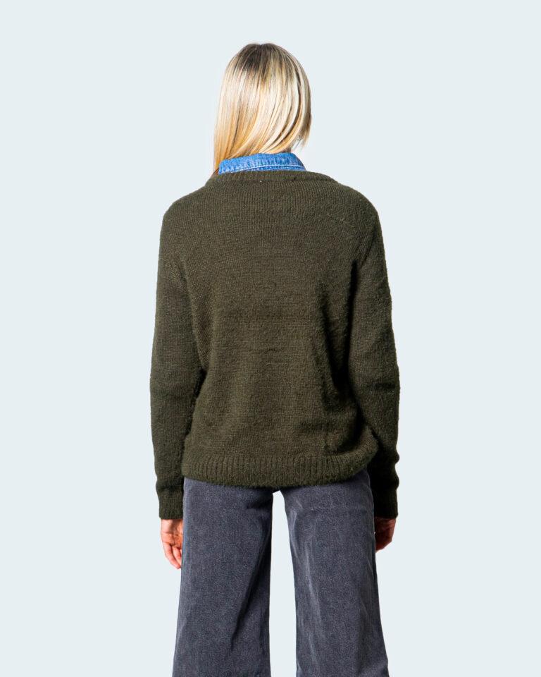 Vila Clothes Maglione Feami O-neck L/S Knit Top/Su 14061272/14056502 - 3