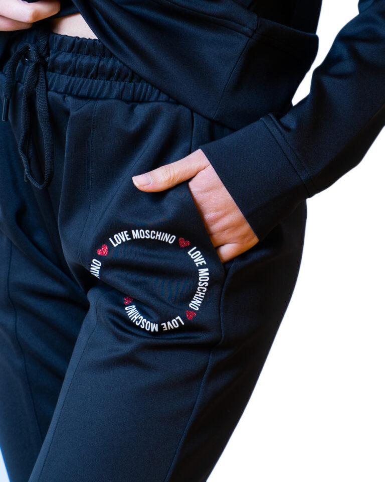 Love Moschino Pantaloni sportivi LOGO CORE PICCOLO W155901E2168 - 3
