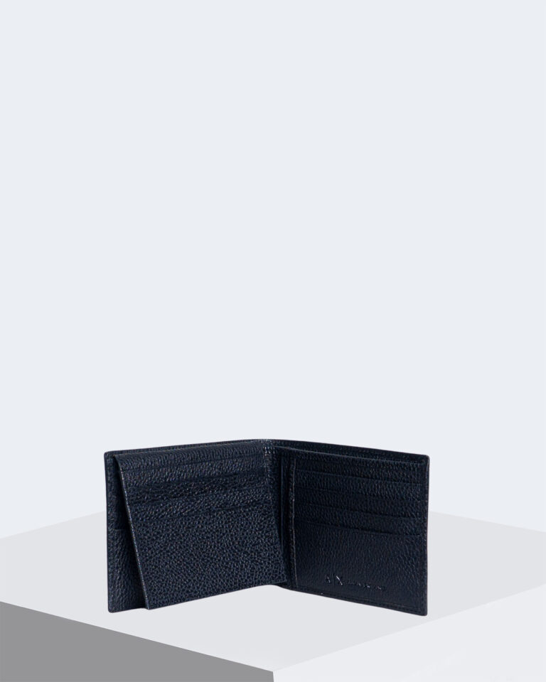 Armani Exchange Portafoglio senza portamonete Trifold W/Credit Card 958058 CC206 - 3