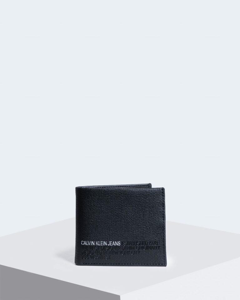 Calvin Klein Jeans Portafoglio senza portamonete BILLFOLD LTH K50K506200 - 1