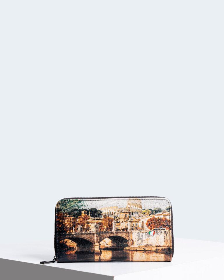 Y Not? Portafoglio grande Wallet Zip Around 361F1 - 1
