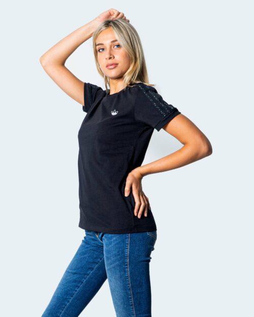 Adidas T-shirt LOGO PICCOLO SX STRISCE SVAROSCHI GC6789 - 1