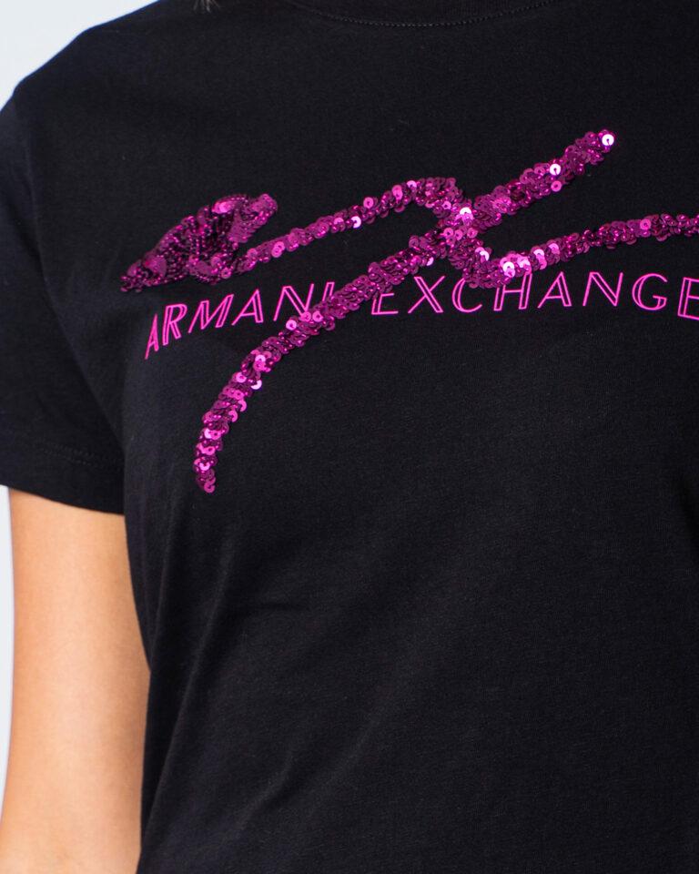 Armani Exchange T-shirt LOGO PAILLETTES 6HYTAZ YJG3Z - 3