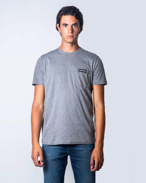 Calvin Klein Jeans T-shirt Institutional Pocket tee J30J315613 - 1