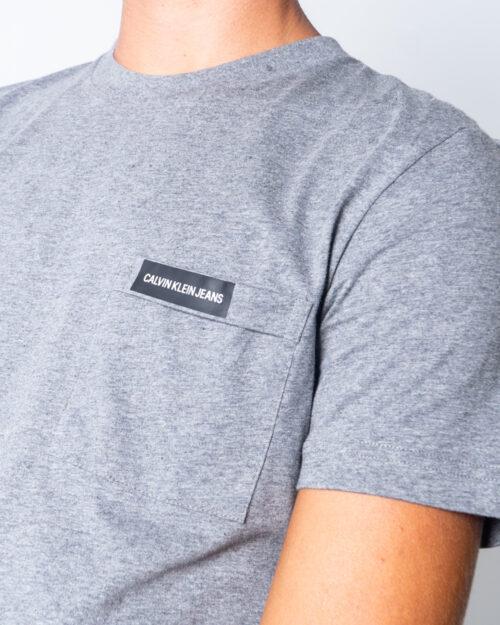 Calvin Klein Jeans T-shirt Institutional Pocket tee J30J315613 - 3