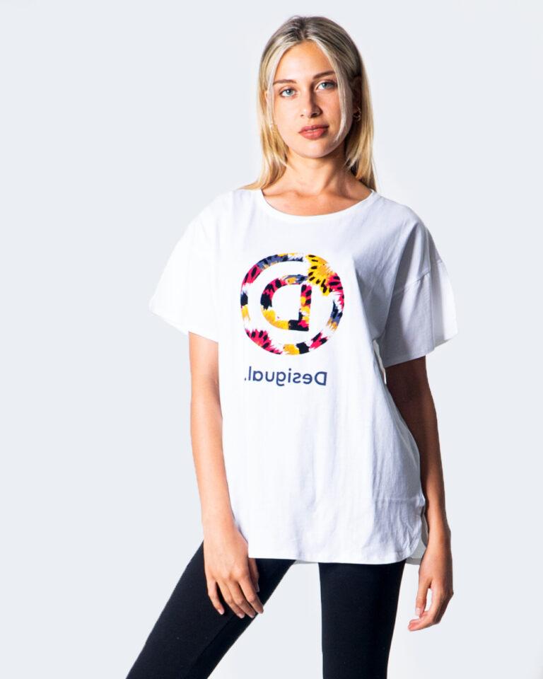 Desigual T-shirt OVERSIZE LONG 20WOTK09 - 1