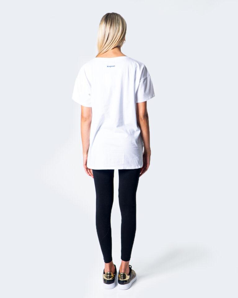 Desigual T-shirt OVERSIZE LONG 20WOTK09 - 3