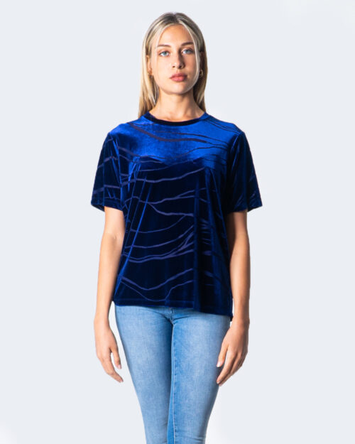 Desigual T-shirt OVERSIZE MONOGRAME 20WOTK20 - 1