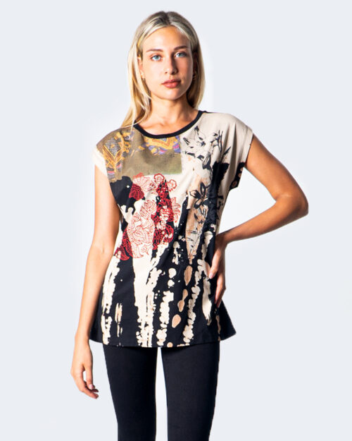 Desigual T-shirt TS ESTOCOLMO 20WWTK57 - 1