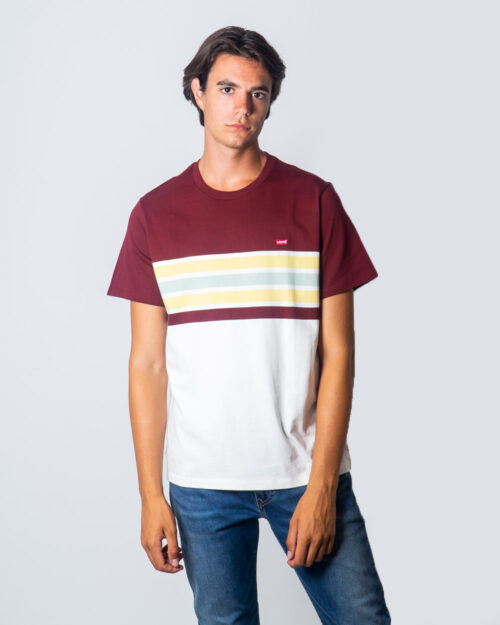 Levi's® T-shirt SS Original HM Tee Pop Stripe 56605-0050 - 1
