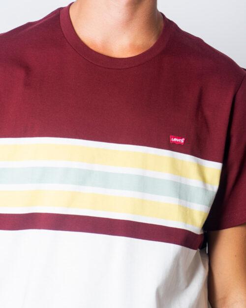Levi's® T-shirt SS Original HM Tee Pop Stripe 56605-0050 - 3