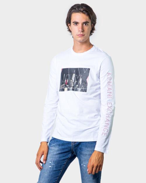 Armani Exchange T-shirt manica lunga LOGO CITY  6HZTGF ZJE6Z - 1