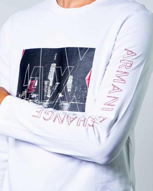 Armani Exchange T-shirt manica lunga LOGO CITY  6HZTGF ZJE6Z - 3