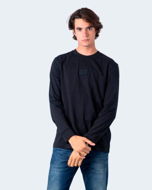 Calvin Klein Jeans T-shirt manica lunga CENTER BADGE LS TEE J30J316605 - 1