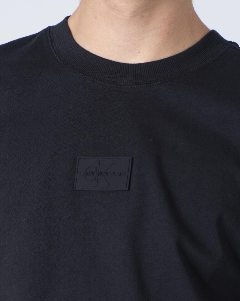 Calvin Klein Jeans T-shirt manica lunga CENTER BADGE LS TEE J30J316605 - 3