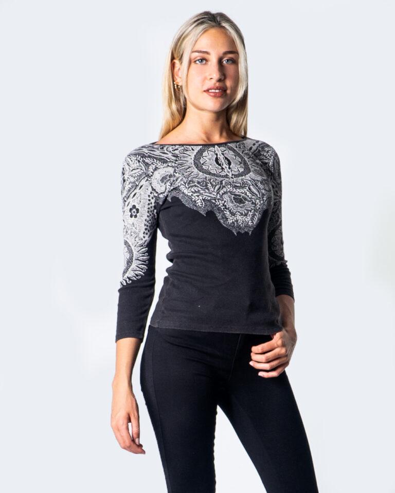 Desigual T-shirt manica lunga TS MICHIGAN 20WWTKAE - 1