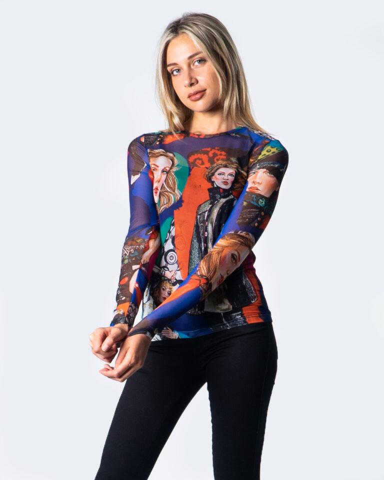 Desigual T-shirt manica lunga TS MUJERES 20WWTKB6 - 1