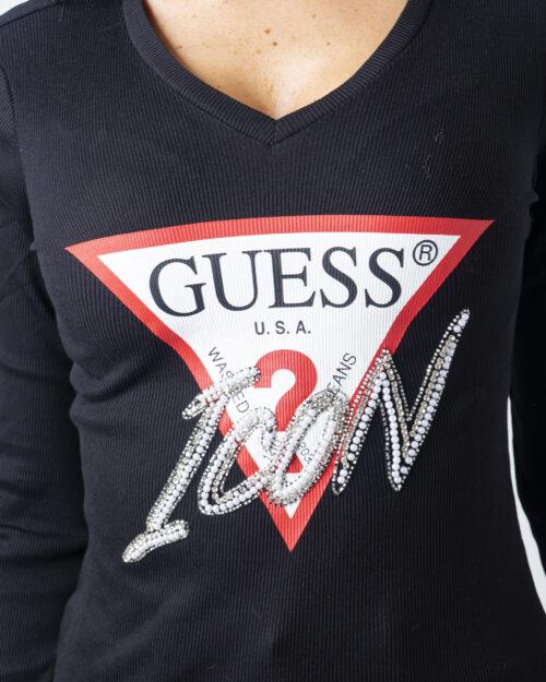Guess T-shirt manica lunga LS VN Icon Tee W0BI04K1810 - 3