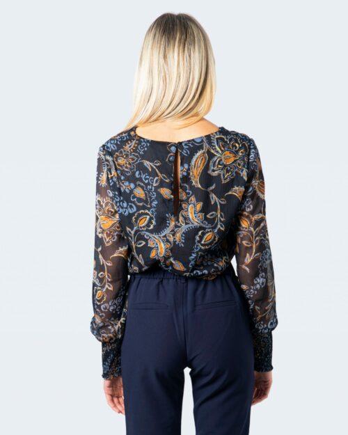 Only T-shirt manica lunga Nana L/S V-Neck Top Wvn 15214996 - 3