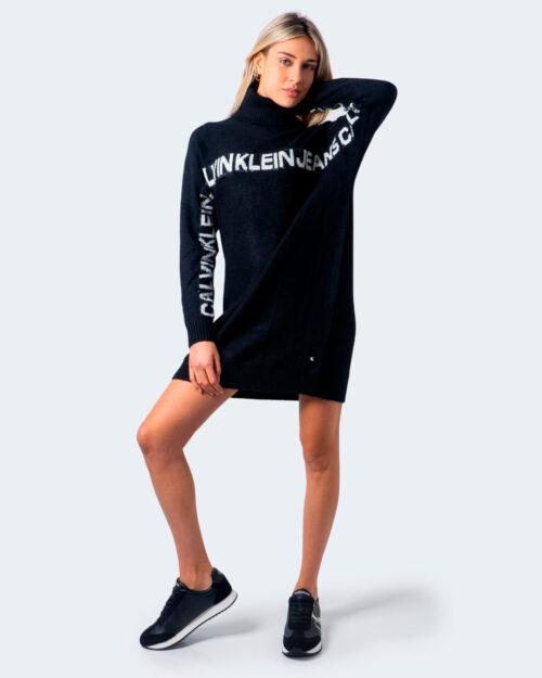 Calvin Klein Jeans Vestito corto Logo Banana J2J215146 - 1