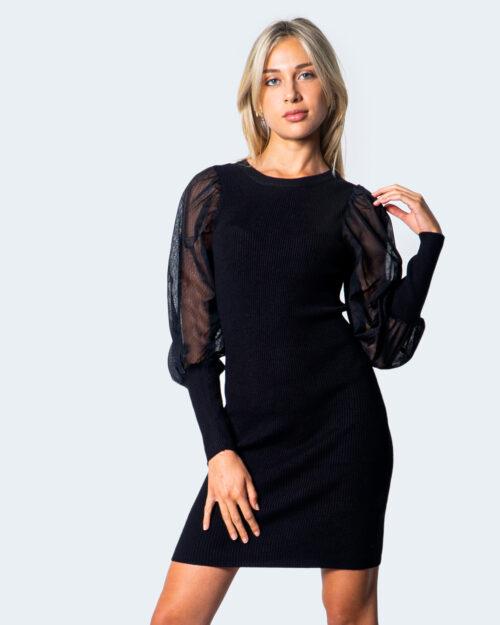 Only Vestito corto Eylene L/S Dress Knit 15210761 - 1