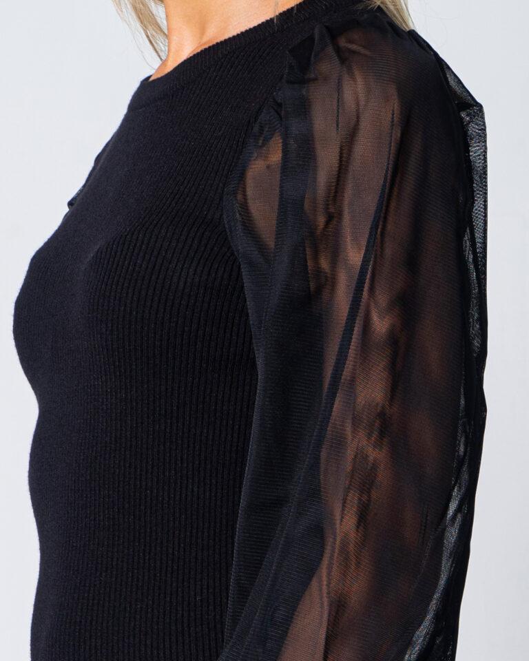 Only Vestito corto Eylene L/S Dress Knit 15210761 - 3
