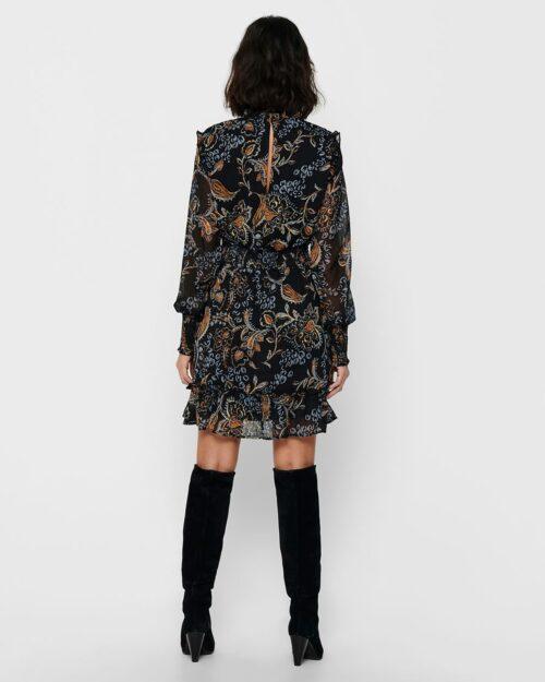 Only Vestito corto Nana L/S Smock Dress Wvn 15216116 - 2