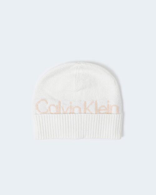 Calvin Klein Cappello zuccotto BEANIE LG LOGO K60K607443 - 1