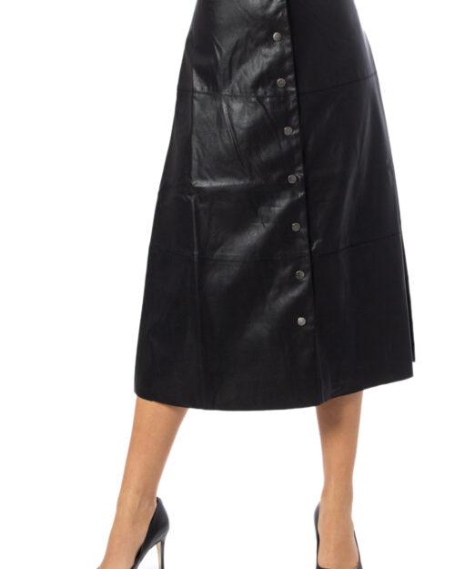 Only Longuette Jane Faux Leather Midi Skirt Otw 15189536 - 1